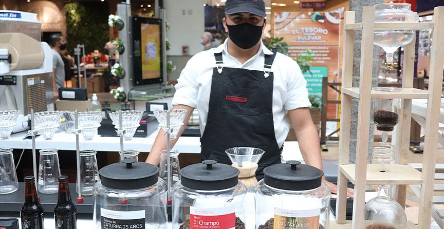 Jhonatan Rivera, barista Laboratorio de Café